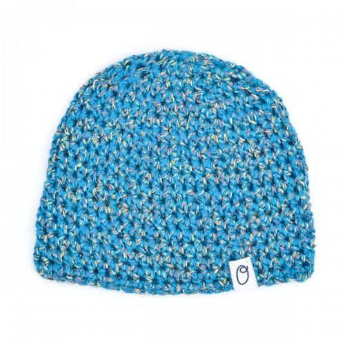 Baby mutsje Royal & Organic – Blauw