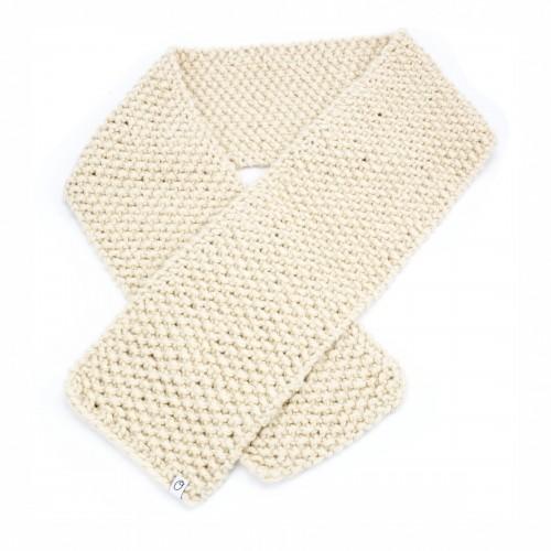 Sjaal Stoer & Gerecycleerd Crème
