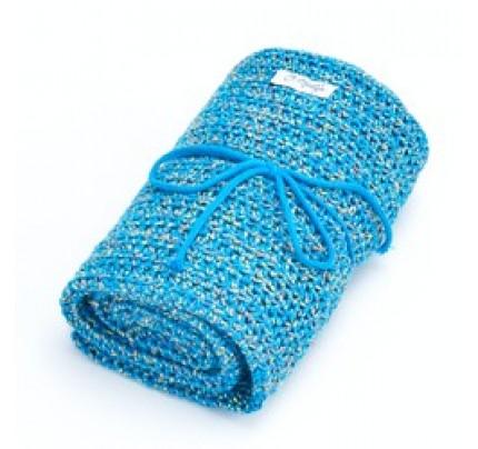 Babydeken Royal & Organic Blauw