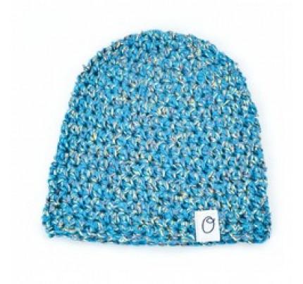 Newborn mutsje Royal & Organic – Blauw